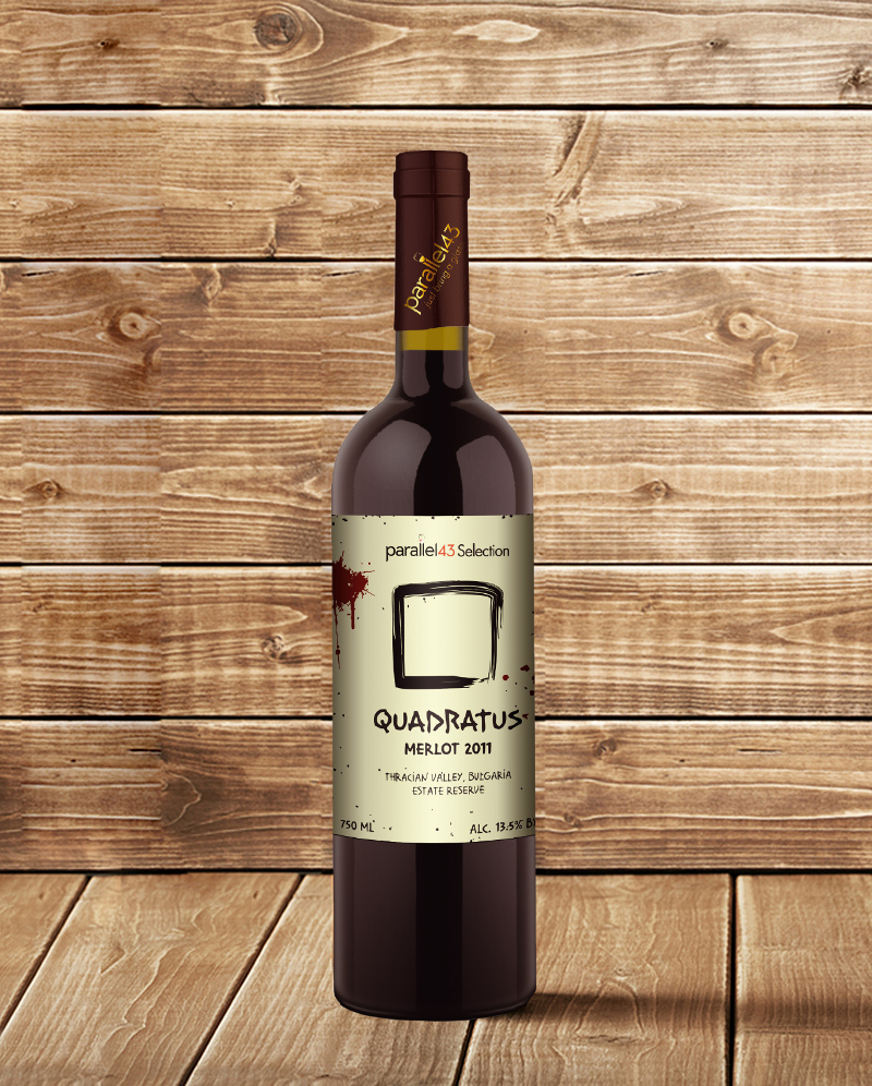Quadratus Merlot 2011 Estate Reserve